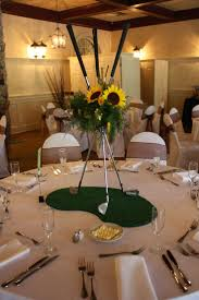 Ideas For Centerpieces For Wedding Reception Tables by Best 25 Golf Party Decorations Ideas On Pinterest Us Masters