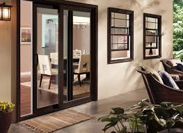 Patio Doors With Windows Pella 350 Series Energy Efficient Patio Doors Pella