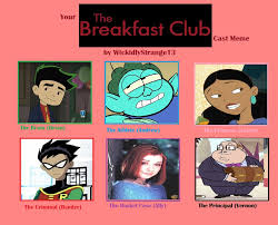 Breakfast Club Meme - the breakfast club recast meme by wickidlystrange13 on deviantart