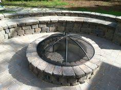 Belgard Fire Pit by Country Manor Fire Pit Belgard Cambridge Cobble Pavers Fire