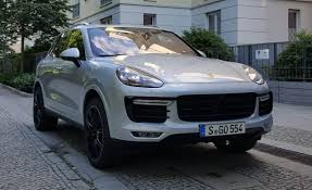 first porsche car 2016 porsche cayenne turbo s first drive u2013 review u2013 car and driver