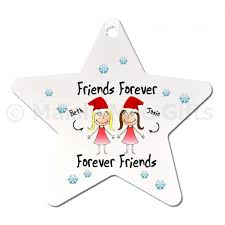 personalised tree ornament friends gift