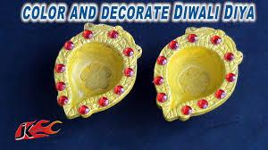 diy how to decorate diwali diya easy diwali home decoration diy how to decorate diwali diya easy diwali home decoration ideas jk easy craft 054 youtube