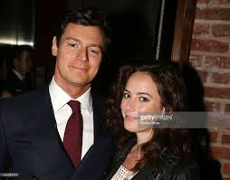 benjamin walker and wife kaya scodelario pose at the opening night of picture id523215574