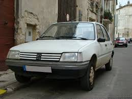 pershow car is the peugeot 205 a future classic ran when parked