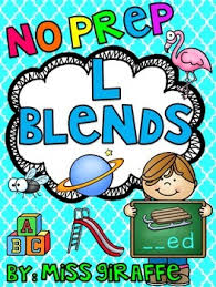 l blends worksheets and activities by miss giraffe tpt