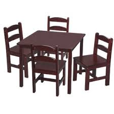 5 Piece Card Table Set Kids U0027 Table And Chairs