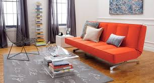 Living Room With Orange Sofa Living Room With Orange Sofa Peenmedia Regard To Furniture