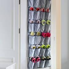 Shoe Rack For Closet Door Door Shoe Organizer Closet Door Shoe Rack Hanging Shoe Organizer