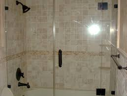 Pinterest Bathroom Shower Ideas Shower Half Wall Shower Awesome Half Glass Shower Door For