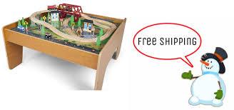 imaginarium train set with table 55 piece toys r us imaginarium train set with table 55 piece set only 59 99
