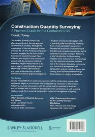 construction quantity surveying a practical guide for the