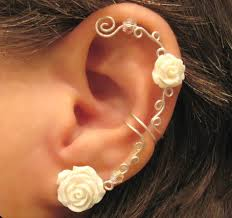 conch piercing cuff piercings on the hunt