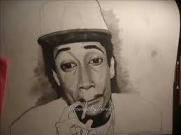 how to draw wiz khalifa time lapse drawing youtube
