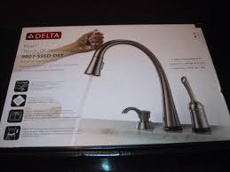Delta Kitchen Faucets Reviews Delta Faucet Pilar Kitchen Faucet Review