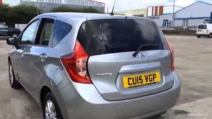 nissan note 2015 nissan note acenta aluminium silver 2015 youtube