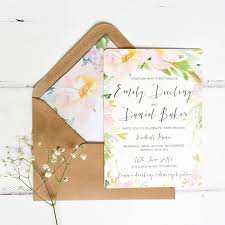 floral wedding stationery hitched co uk