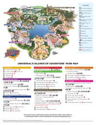 Universal Orlando Map Highstar Travel Group U003e Helpful Information