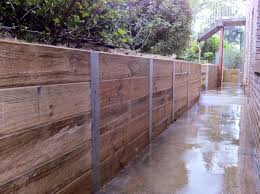 Pictures Of Retaining Wall Ideas by Wonderful Ideas Timber Retaining Wall Design Retaining