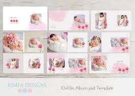 photo albums for babies 10x10in album psd template baby baby psd template by kimladesigns