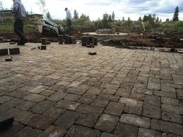 Paver Patio Installation by Photos Headwaters Outdoor Living And Landscape