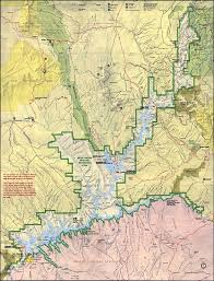 Arizona Map by Glen Canyon National Recreation Area Shaded Relief Map Arizona