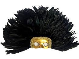 feather mask zucker feather tm feather headdress mask dyed