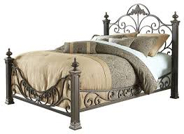 Royal Bed Frame Baroque Royal Metal Bed Queen Mediterranean Panel Beds By
