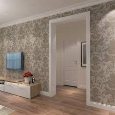 papier peint intissé pour cuisine hanmero papier peint intissé baroque européen motif de damas 3d