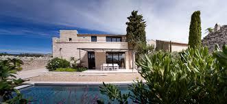 villa d architecte contemporaine cabinet architecte construction et rénovation maison gordes