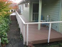 aluminum deck railing fashion portland traditional porch