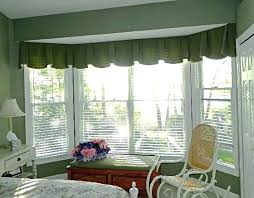 Valances For Bay Windows Inspiration Valances For Bay Windows Bay Window Window Treatments Window