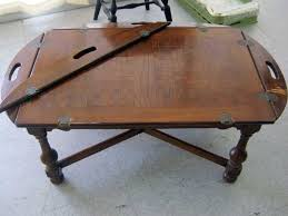 butler table with tray butler tray table hinge wallowaoregon com butler tray table for