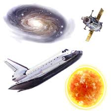 space travel planets 24pc self stick wall accent stickers space travel wall stickers
