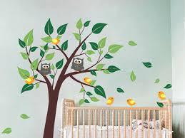 stickers chambre b b arbre stickers chambre enfant ides