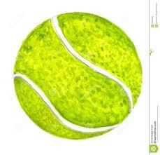 tennis ball sketch stock illustration image 93387395