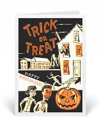 vintage 1950s halloween greeting cards 12686 harrison