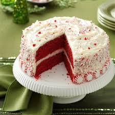 cake directions peppermint velvet cake recipe taste of home