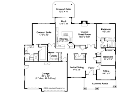 Ranch House Floor Plan Ranch House Plans Oak Hill 30 810 Associated Designs