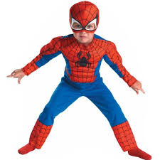 Youth Boy Halloween Costumes Aliexpress Buy Deluxe Child Muscle Spiderman Homem Aranha