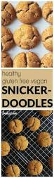 healthy gluten free vegan snickerdoodles fooduzzi