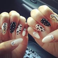 fake black nails cross designs 2015 best nails design ideas