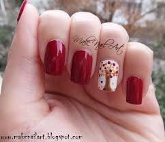 make nail art october 2015