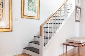 Staircase Handrail Design Interior Design Plush Wooden Banister Rail Stair As Decorate