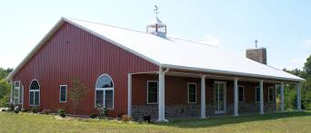 Steel Barns Sale Country Barn Home Kit W Open Porch 9 Pictures Metal Building