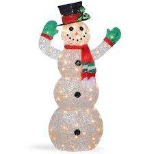 Snowman Lawn Decorations Outdoor Snowman Christmas Decorations Best Christmas Outdoor