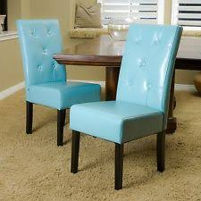 Dining Room Chairs Ebay Other Blue Leather Dining Room Chairs Perfect On Other With Teal