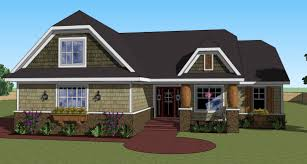 Coolhouse Com One Story Craftsman Home Plan 14566rk Architectural Designs