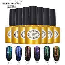 popular nail gel color black chameleon buy cheap nail gel color