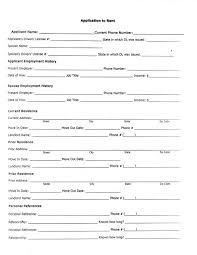 generic credit application template printable sample rental application form form real estate forms